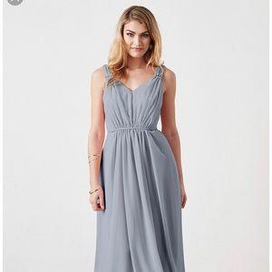 Weddington Way Dusty Blue Juliette Maxi Dress Sz 0
